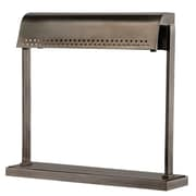 17 Stories Eloi 14'' Table Lamp; Historic Nickel