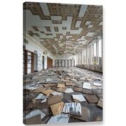 Williston Forge 'Abandoned School 3' Photographic Print on Canvas; 48'' H x 32'' W x 2'' D
