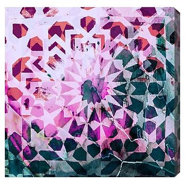 Ivy Bronx 'Miriem'' Painting Print on Wrapped Canvas; 16'' H x 16'' W