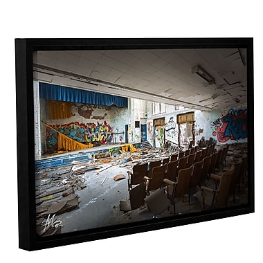 17 Stories 'Abandoned School 1' Framed Photographic Print on Canvas; 32'' H x 48'' W x 2'' D