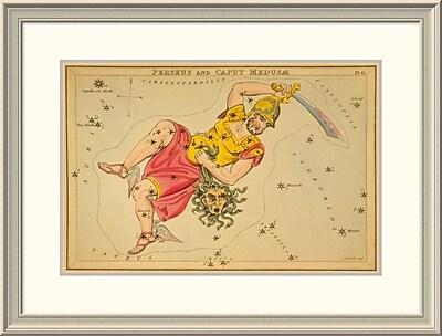 East Urban Home 'Perseus and Caput Medus , 1825' Framed Print; 24'' H x 32'' W x 1.5'' D