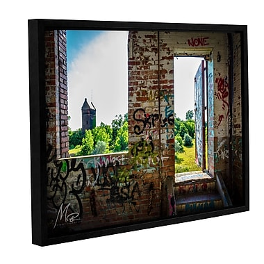 Williston Forge 'Out from the Dark' Framed Photographic Print on Canvas; 14'' H x 18'' W x 2'' D