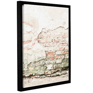 Williston Forge 'Sandrift' Framed Graphic Art on Wrapped Canvas; 10'' H x 8'' W x 2'' D