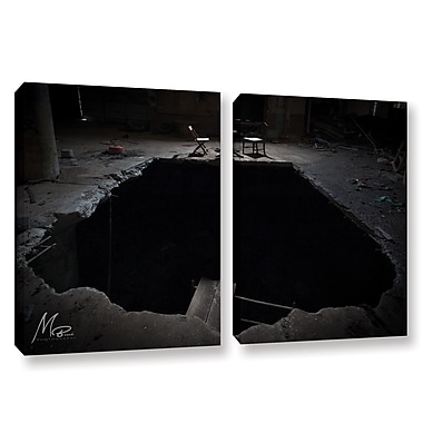 Williston Forge 'Black Hole' Photographic Print Multi-Piece Image on Wrapped Canvas in Black/Gray