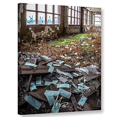 Williston Forge 'Abandoned Paychecks' Photographic Print on Canvas; 48'' H x 36'' W x 2'' D