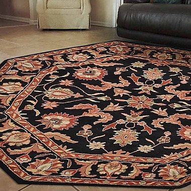 Darby Home Co Oppenheim Vintage Hand Tufted Wool Multicolor Area Rug