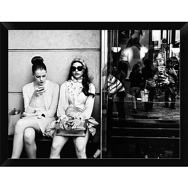 East Urban Home 'The Other Side' Framed Photographic Print; 12'' H x 16'' W