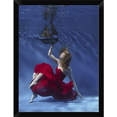 East Urban Home 'Never Let Go' Framed Photographic Print; 16'' H x 12'' W