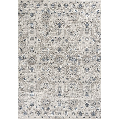 Astoria Grand Lappin Ivory Area Rug; 5'3'' x 7'7''