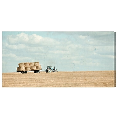 August Grove 'Truck' Photographic Print on Wrapped Canvas; 18'' H x 36'' W x 1.5'' D