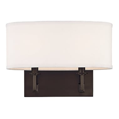 Darby Home Co Etten 2-Light Wall Bracket; Old Bronze