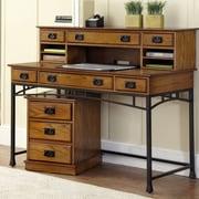 17 Stories Senda Computer Desk w/ Hutch