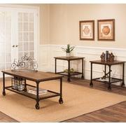 17 Stories C dric 3 Piece Coffee Table Set