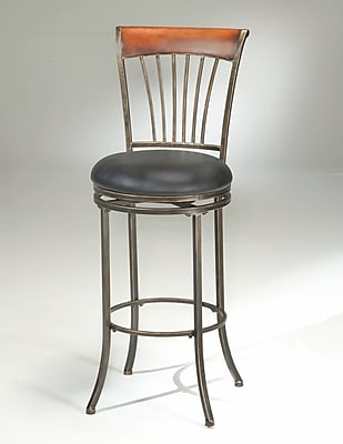 17 Stories Kobe 26'' Swivel Bar Stool