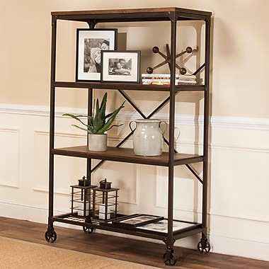 17 Stories Oc ane 63'' Etagere Bookcase