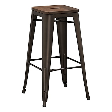 17 Stories Lidio 30'' Bar Stool (Set of 2)