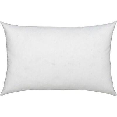 Anew Edit Modern Cotton Pillow Insert; 12'' x 20''