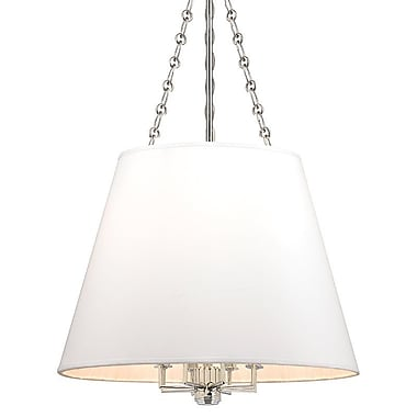 Darby Home Co Espinosa 8-Light Pendant; Polished Nickel