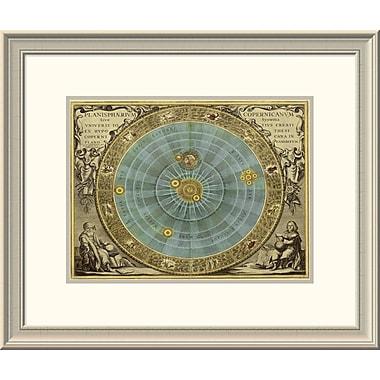 East Urban Home 'Maps of the Heavens: Planisphaerium Copernicanum' Framed Print
