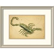 East Urban Home 'Scorpio, 1825' Framed Print; 28'' H x 38'' W x 1.5'' D