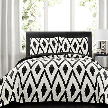 Ivy Bronx Meggan 3 Piece Quilt Set; Full/Queen