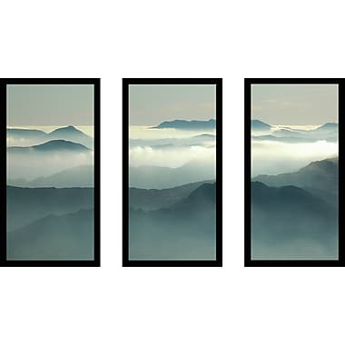Latitude Run 'Above the Clouds' Framed Photographic Print Multi-Piece Image on Glass