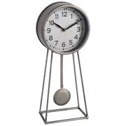 17 Stories Contemporary Metal Desk Clock