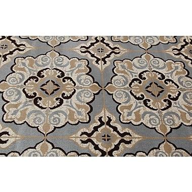 Winston Porter Doreen Decorative Modern Contemporary Southwestern Gray/Beige Area Rug; 5' x 7'