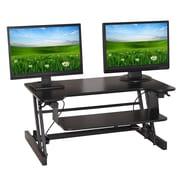 Winston Porter Delia Height-Adjustable Sitting Standing Desk