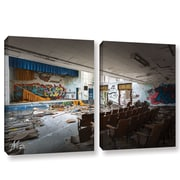 17 Stories 'Abandoned School 1' Photographic Print Multi-Piece Image on Wrapped Canvas