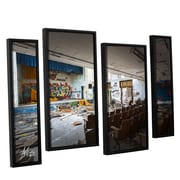 17 Stories 'Abandoned School 1' Framed Photographic Print Multi-Piece Image on Canvas
