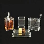 Orren Ellis Margot Acrylic 4-Piece Bathroom Accessory Set