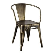 Ivy Bronx Carolyne Industrial Dining Chair (Set of 4)