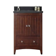 Darby Home Co Nixon Floor Mount 23.75'' Single Bathroom Plywood-Veneer Vanity Set