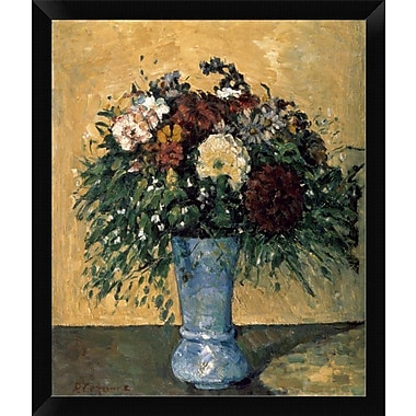 East Urban Home 'Bouquet of Flowers' Framed Oil Painting Print; 12'' H x 9'' W