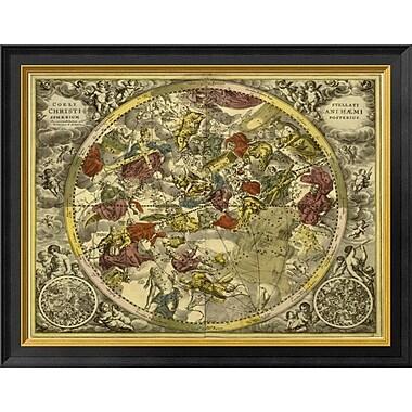 East Urban Home 'Maps of the Heavens: Coelistellati Christianihaemi' Framed Graphic Art Print