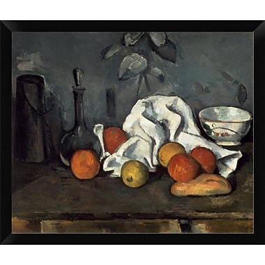 East Urban Home 'Fruits' Framed Oil Painting Print; 12'' H x 16'' W