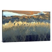 Global Gallery 'California Aerial' by Tanja Ghirardini Graphic Art on Wrapped Canvas