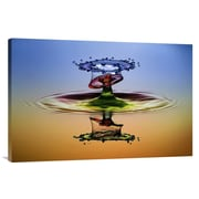 Global Gallery 'Cmyk' by Muhammad Berkati Graphic Art on Wrapped Canvas; 24'' H x 36'' W x 1.5'' D