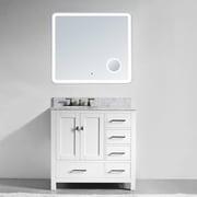 Innoci 36  Single Bathroom Vanity Set w/ Mirror; White