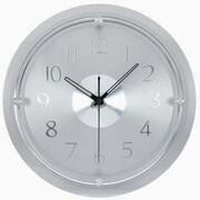 Latitude Run 13.5'' Brushed Steel Wall Clock