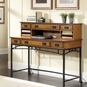 17 Stories Senda Writing Desk w/ 1 Right & 1 Left Drawer