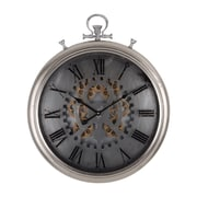 17 Stories Modern 20.5'' Round Pocketed Wall Clock