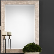 Everly Quinn Rectangle Beveled Glass Accent Mirror