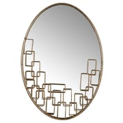 Everly Quinn Oval Accent Wall Mirror