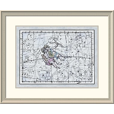 East Urban Home 'Maps of the Heavens: Gemini - the Twins - Castor and Pollux' Framed Print