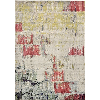 Ivy Bronx Ned Beige Neutral Area Rug; 9' x 12'