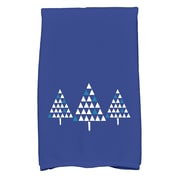 The Holiday Aisle Cotton Hand Towel; Royal Blue