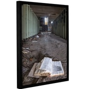 Williston Forge 'Abandoned School 4' Framed Photographic Print on Canvas; 48'' H x 36'' W x 0.1'' D