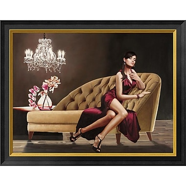 East Urban Home 'Jewel' Framed Graphic Art Print; 14'' H x 18'' W